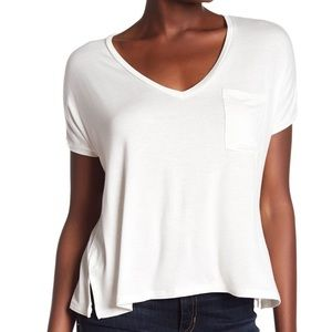 PST by Project Social T V-Neck Pocket Tee (D4)